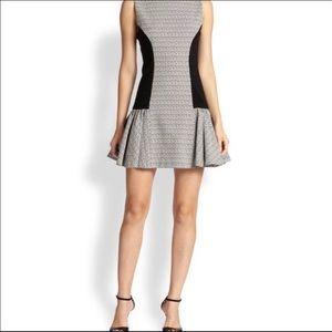 Alice + Olivia Bettina Drop Waist Dress
